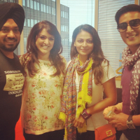 Jimmy-Sheirgill-Neeru Bajwa and Gurpreet Guggi